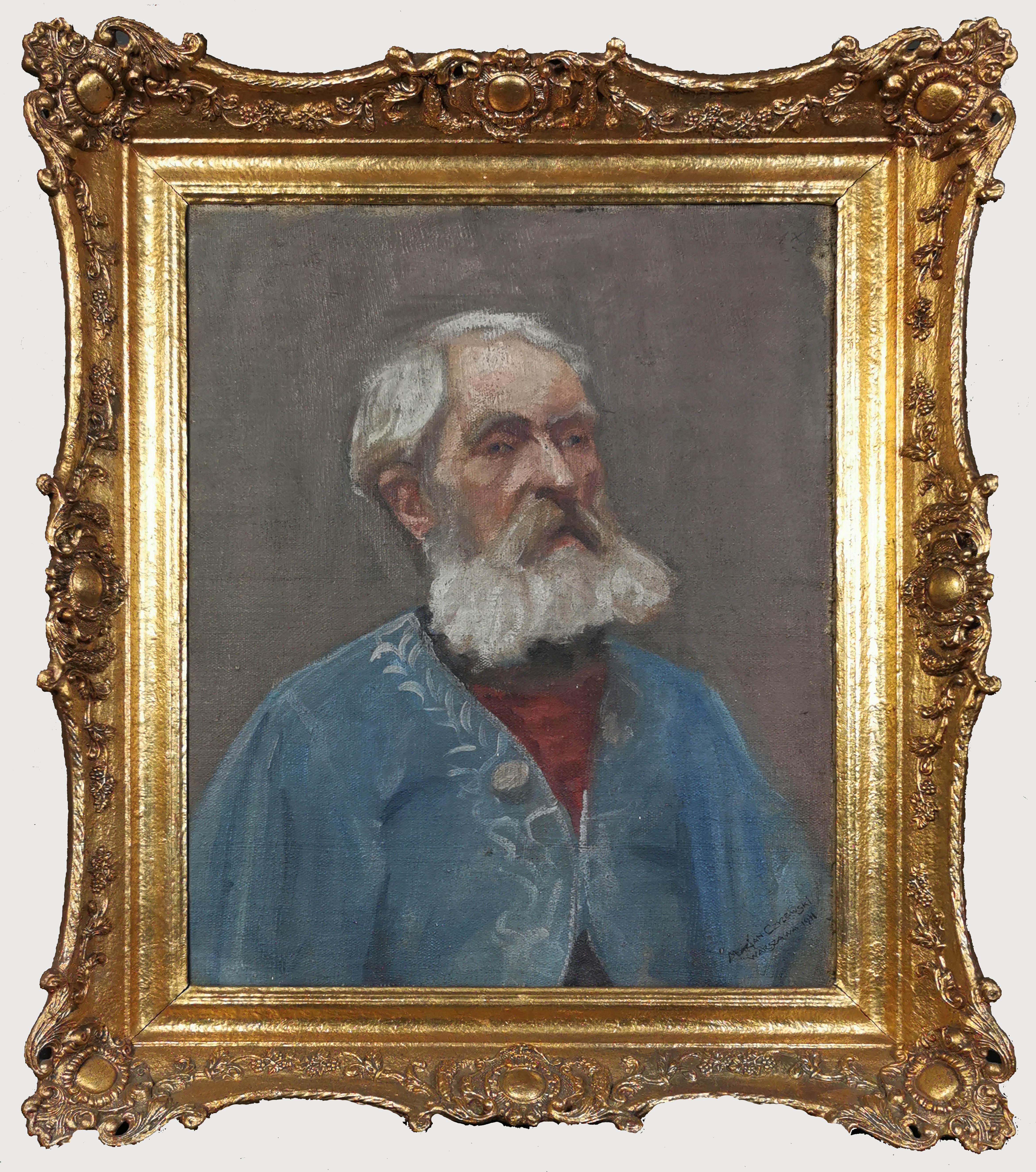 Portret mężczyzny w brodą, 1911