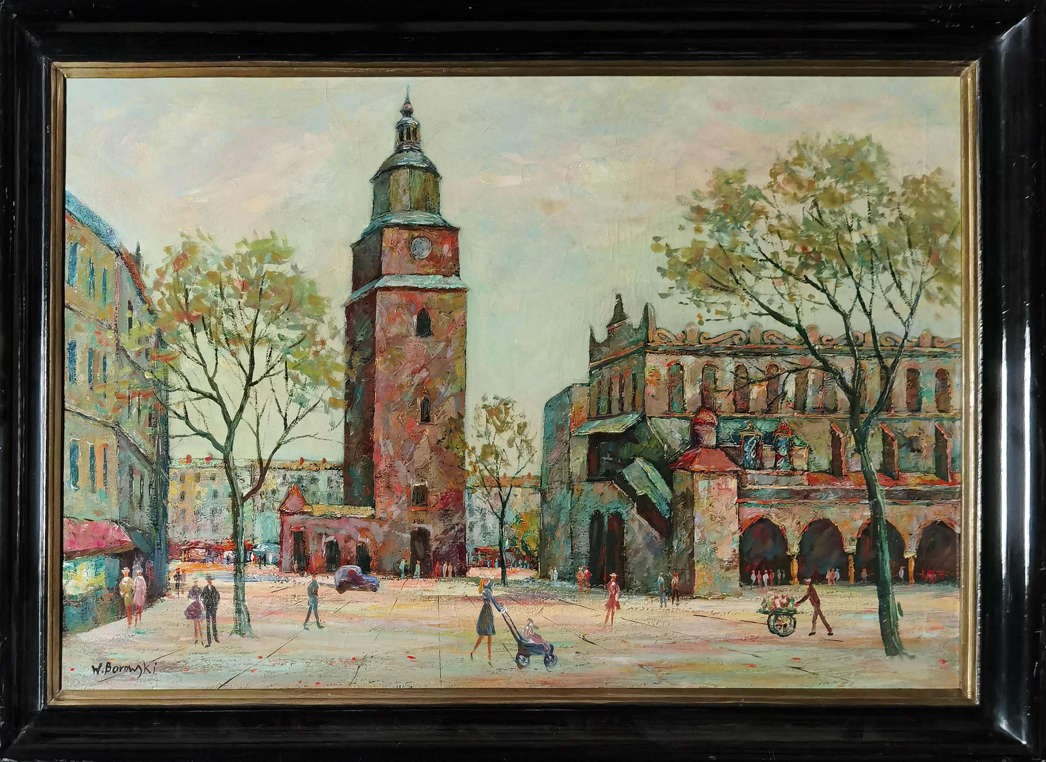Kraków - Sukiennice i Wieża Ratusza