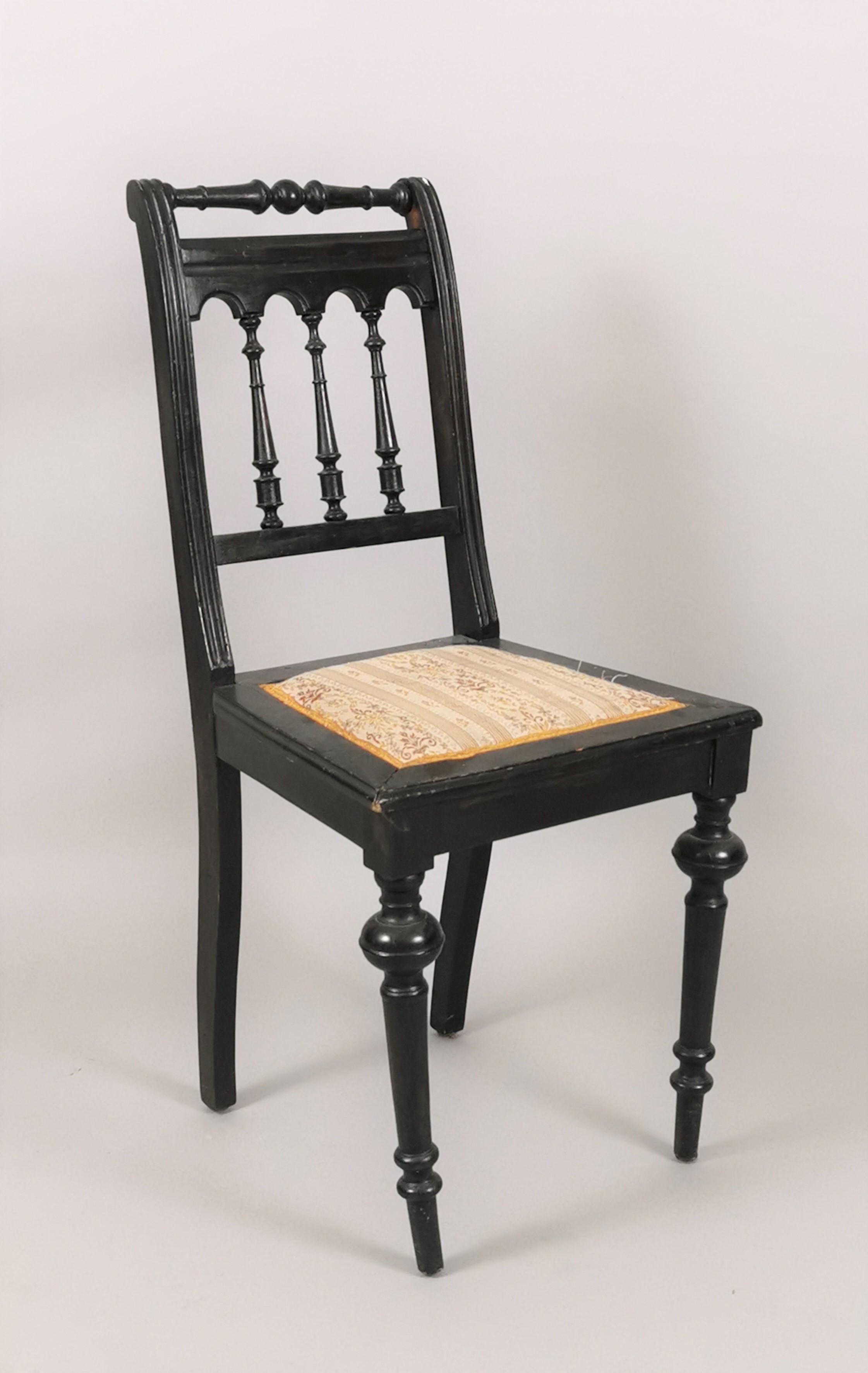Krzesło eklektyczne