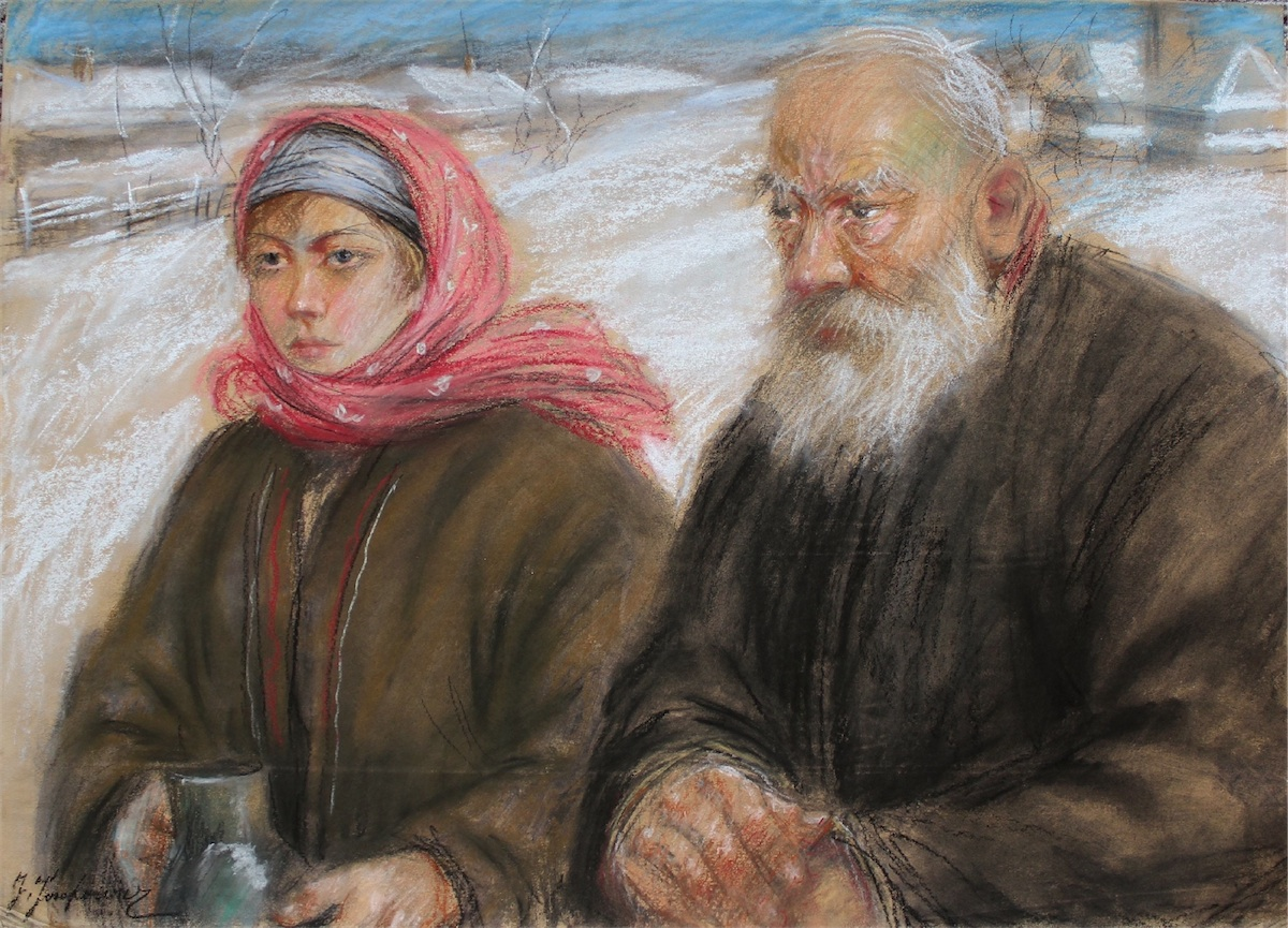 Starość i młodość (wg T.Axentowicza)