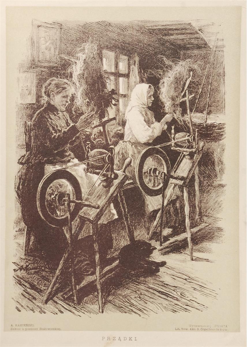 Prządki, 1912