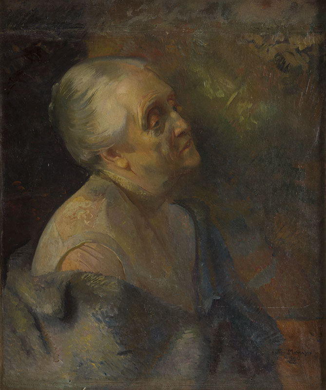 Portret Marii Kleniewskiej, 1940 r.
