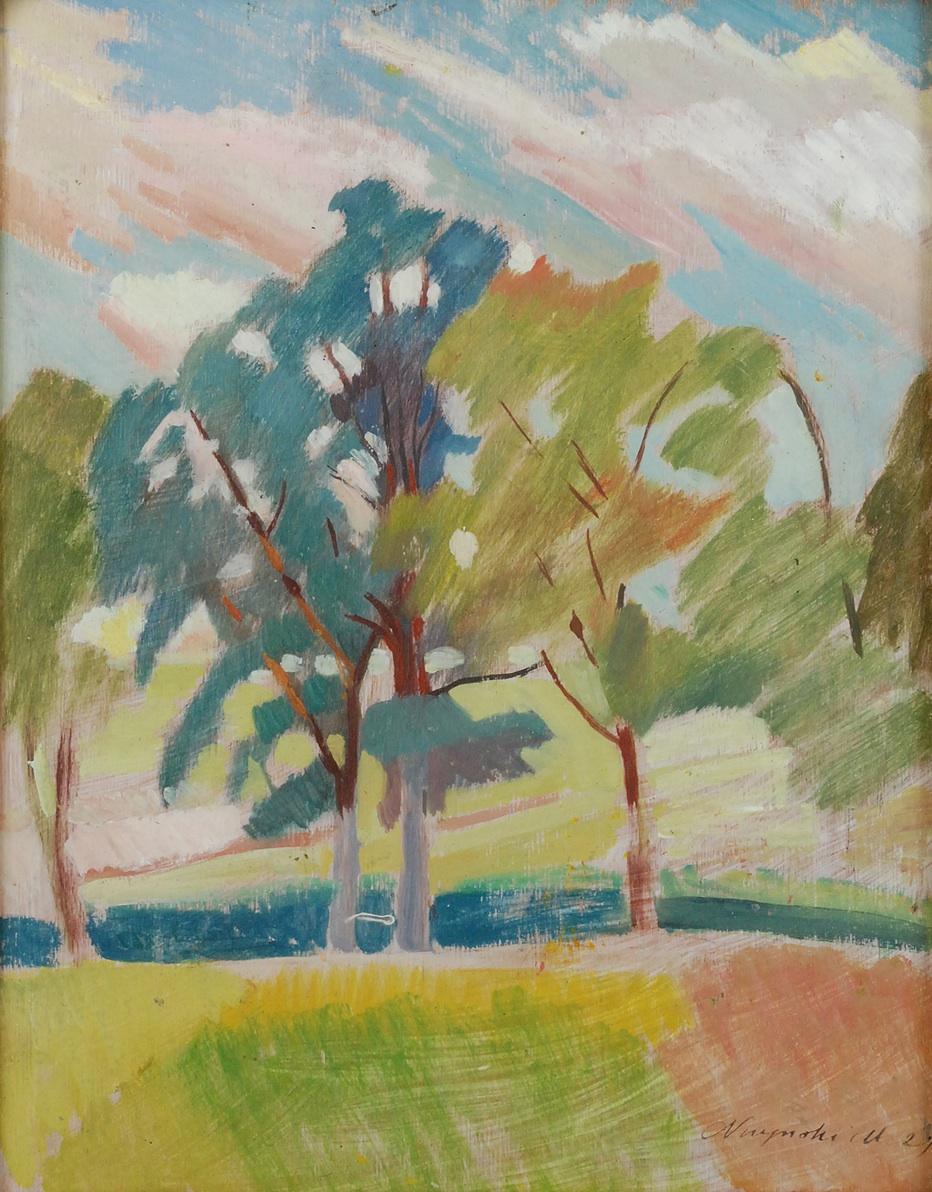 Drzewa, 1929