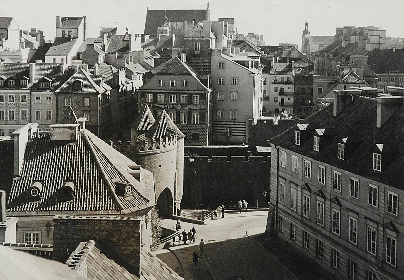 Warszawa - Barbakan, 1959