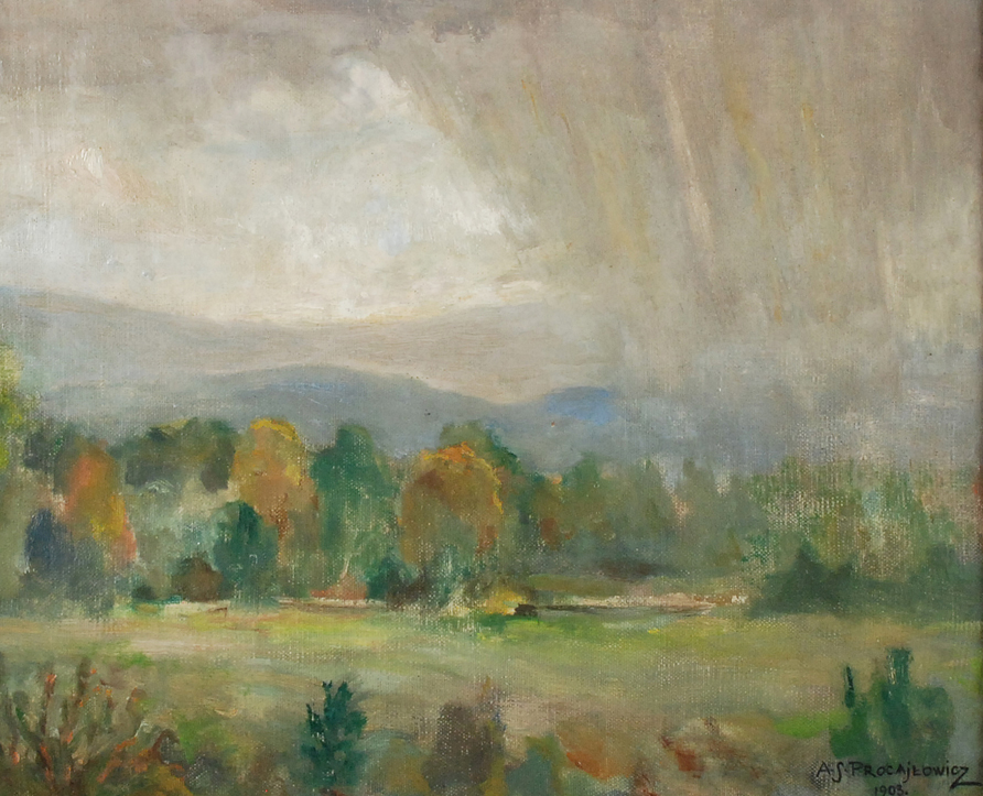 Deszcz, 1903