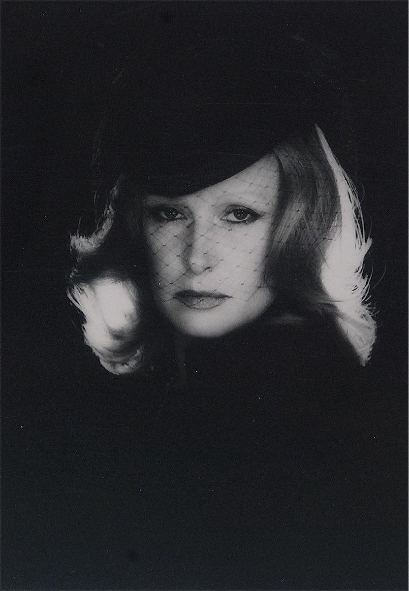 Portret Beaty Tyszkiewicz w woalce