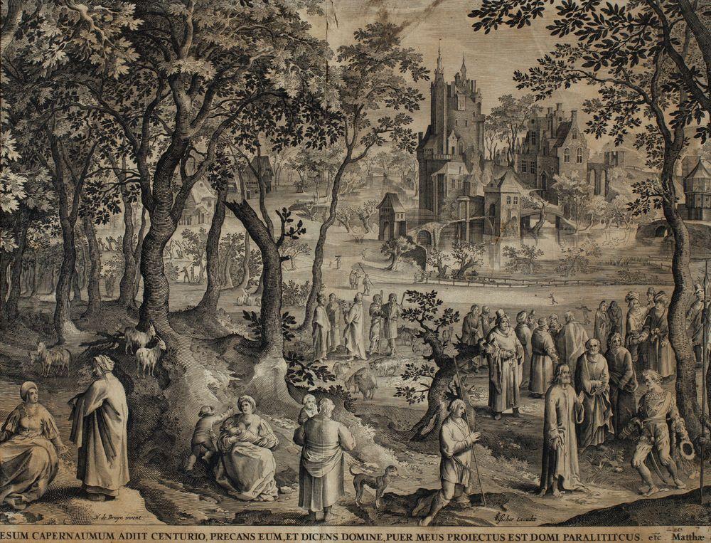 SPOTKANIE JEZUSA Z SETNIKIEM Z KAFARNAUM, 1652