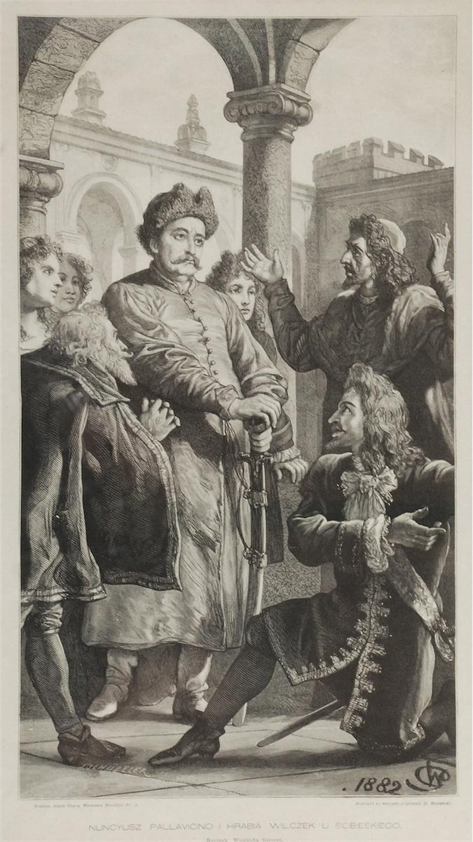 Nuncyusz Pallavicino i Hrabia Wilczek