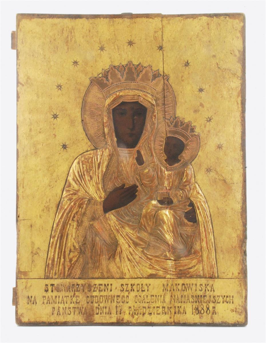 Matka Boska Częstochowska, 1888