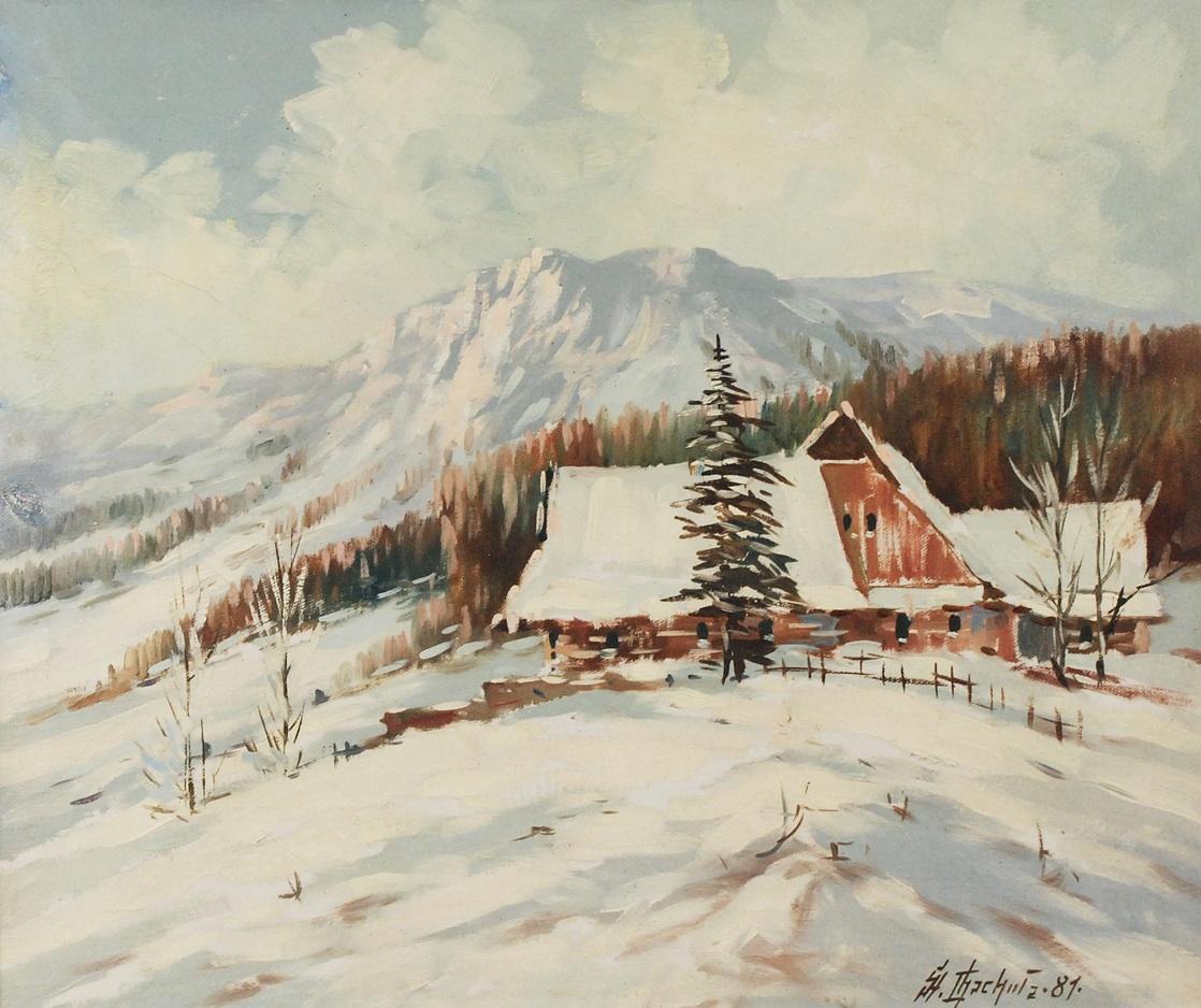 Tatry zimą, 1981