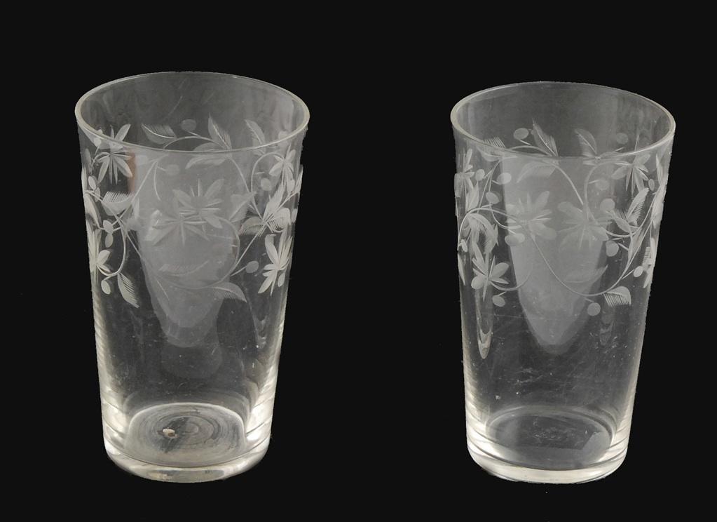 Zestaw szklanek tzw. literatek - 6 sztuk
