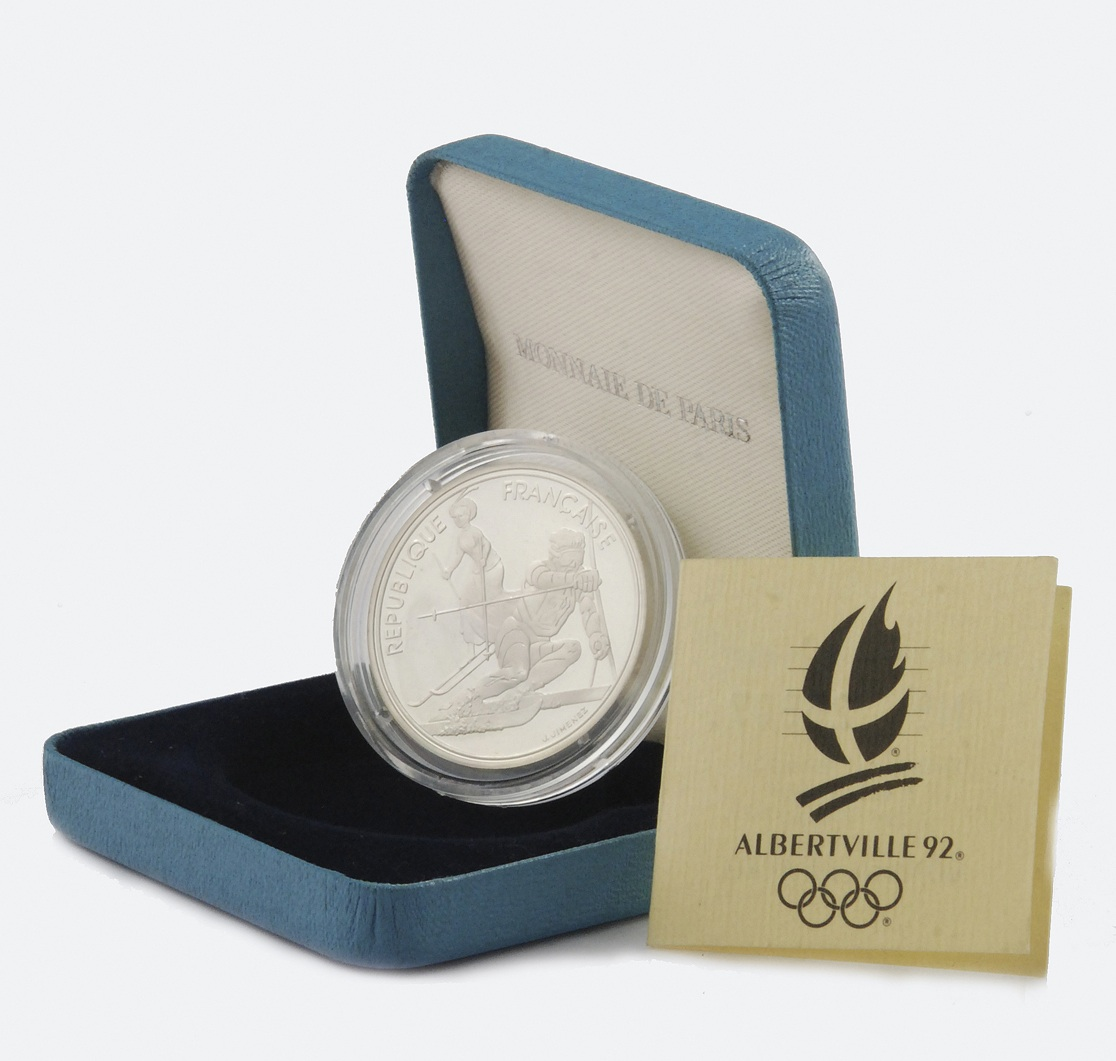 Moneta 100 frankowa