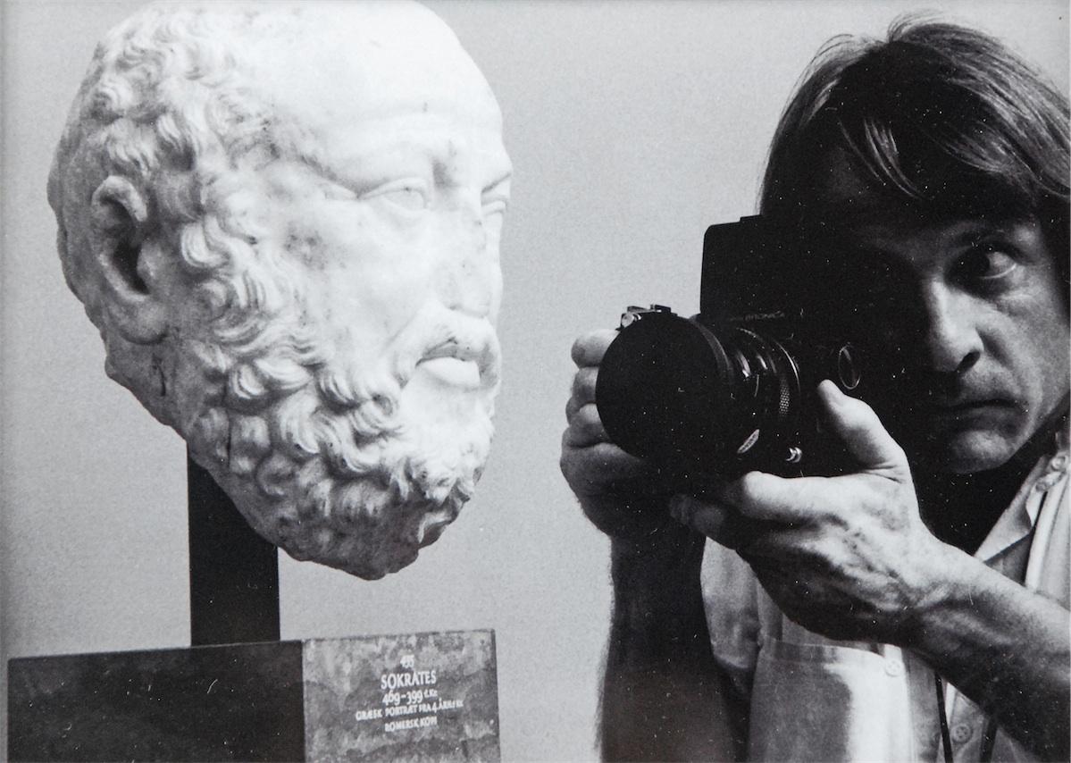 Z cyklu Obok sztuki, Meeting - Copenhagen, Gliptoteka, 1991/2008