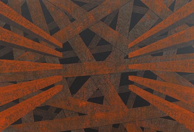 Untitled Corten Structure 2, 2015