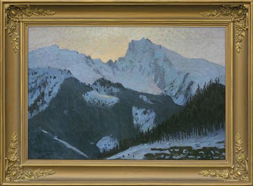 TATRY ZIMĄ, 1904