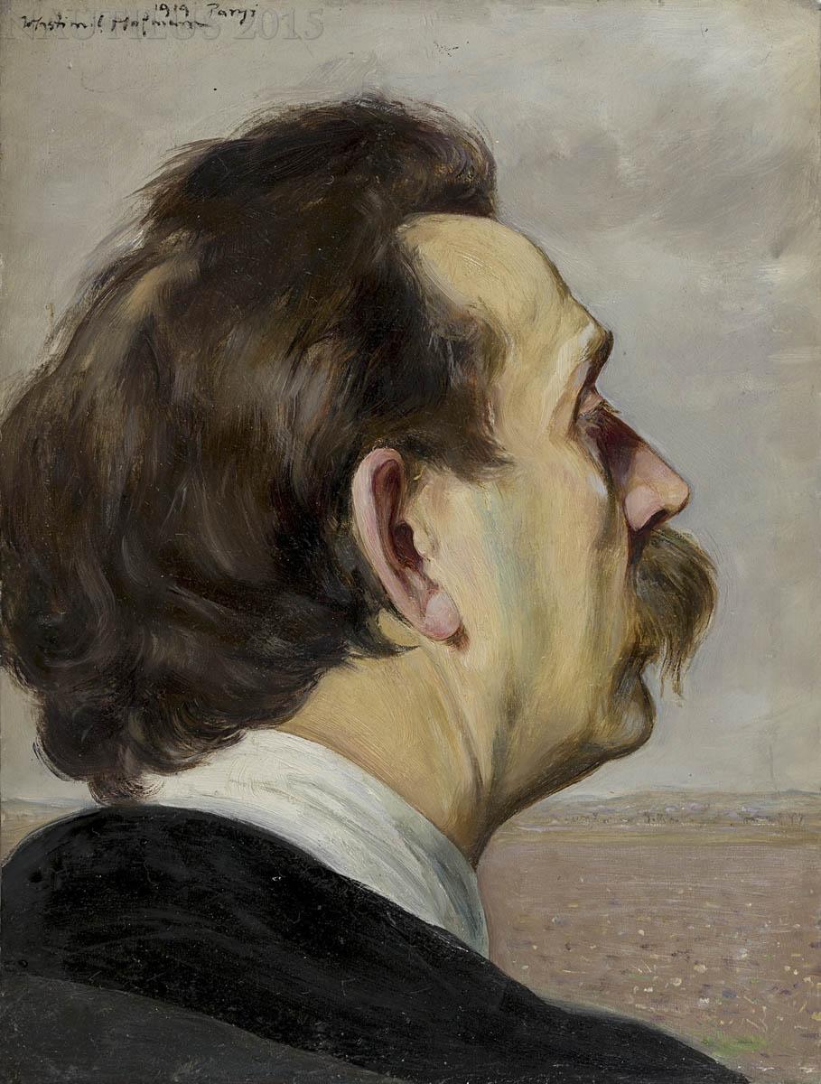 Autoportret, 1919