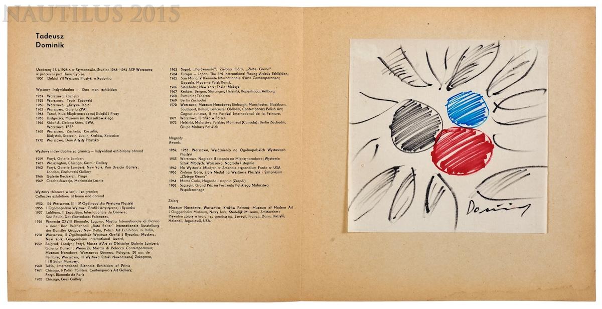 Kompozycja, 1975