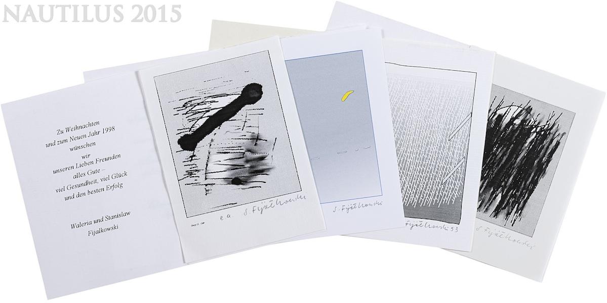 Zbiór serigrafii okolicznościowych, 1993-1999