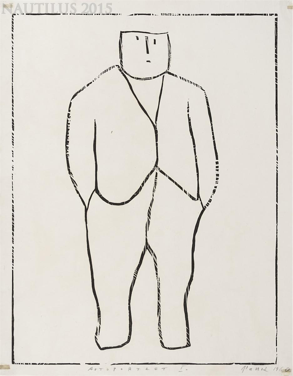 Autoportret I, 1960
