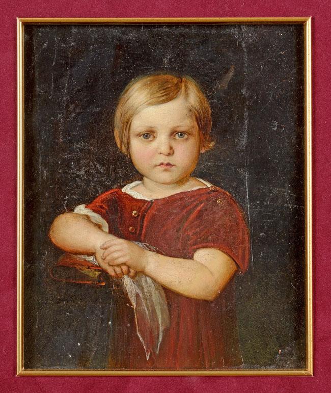 PORTRET DZIECIĘCY, ok. 1850