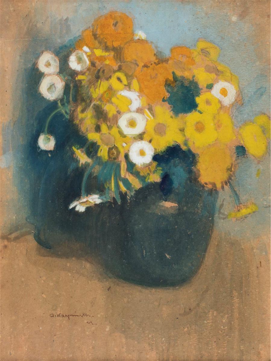 Kwiaty w wazonie, 1923