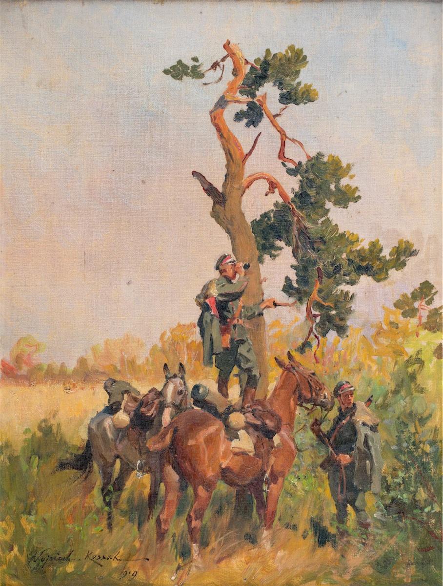 Zwiad, 1919