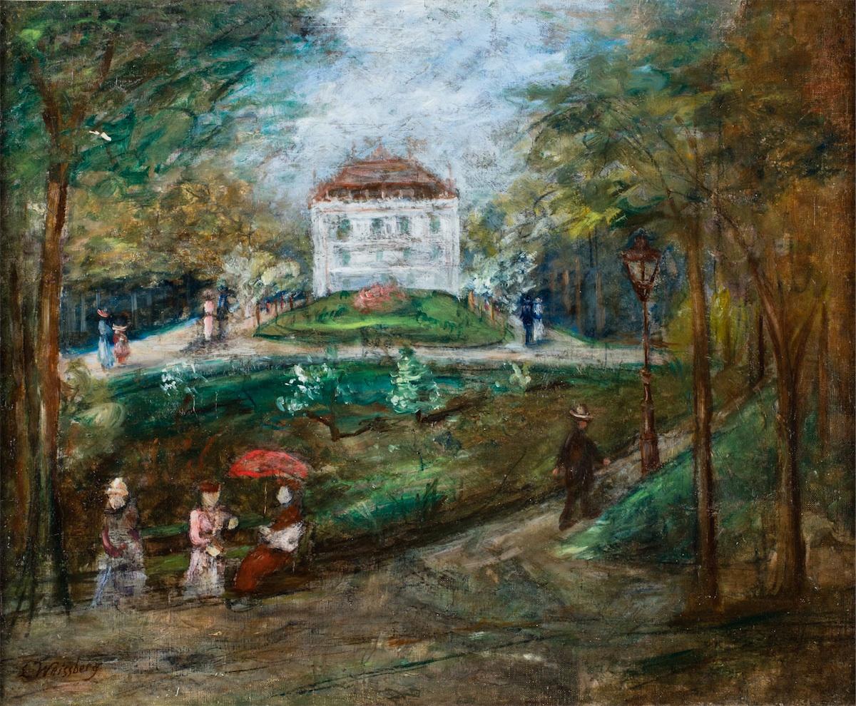 Park Montsouris w Paryżu, ok. 1926-28