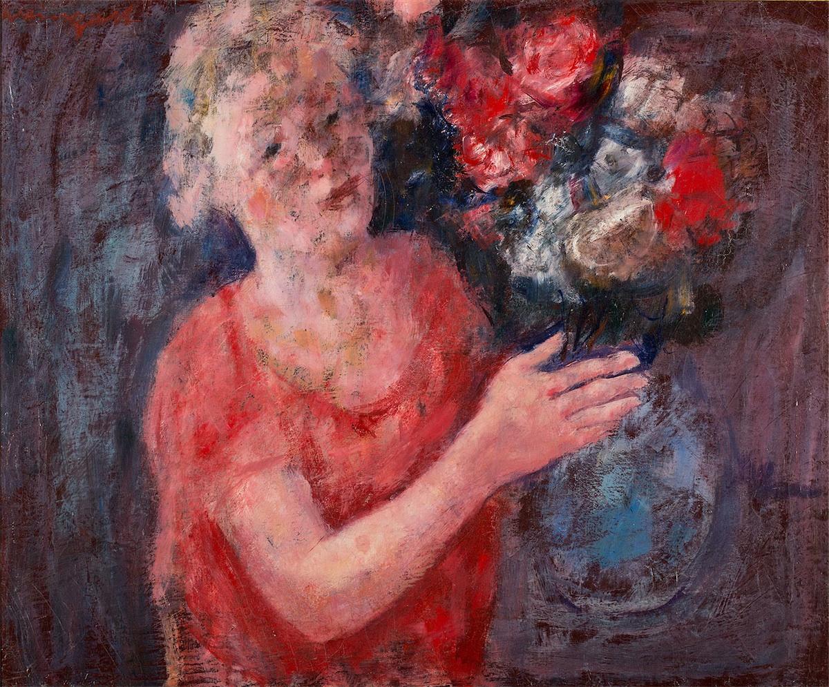 Dziewczyna z kwiatami, 1930
