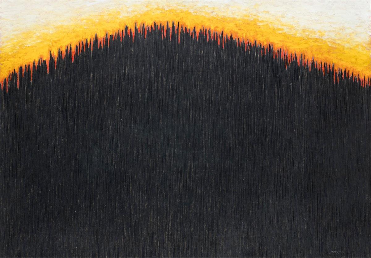 bez tytułu (Linia lasu), 1997