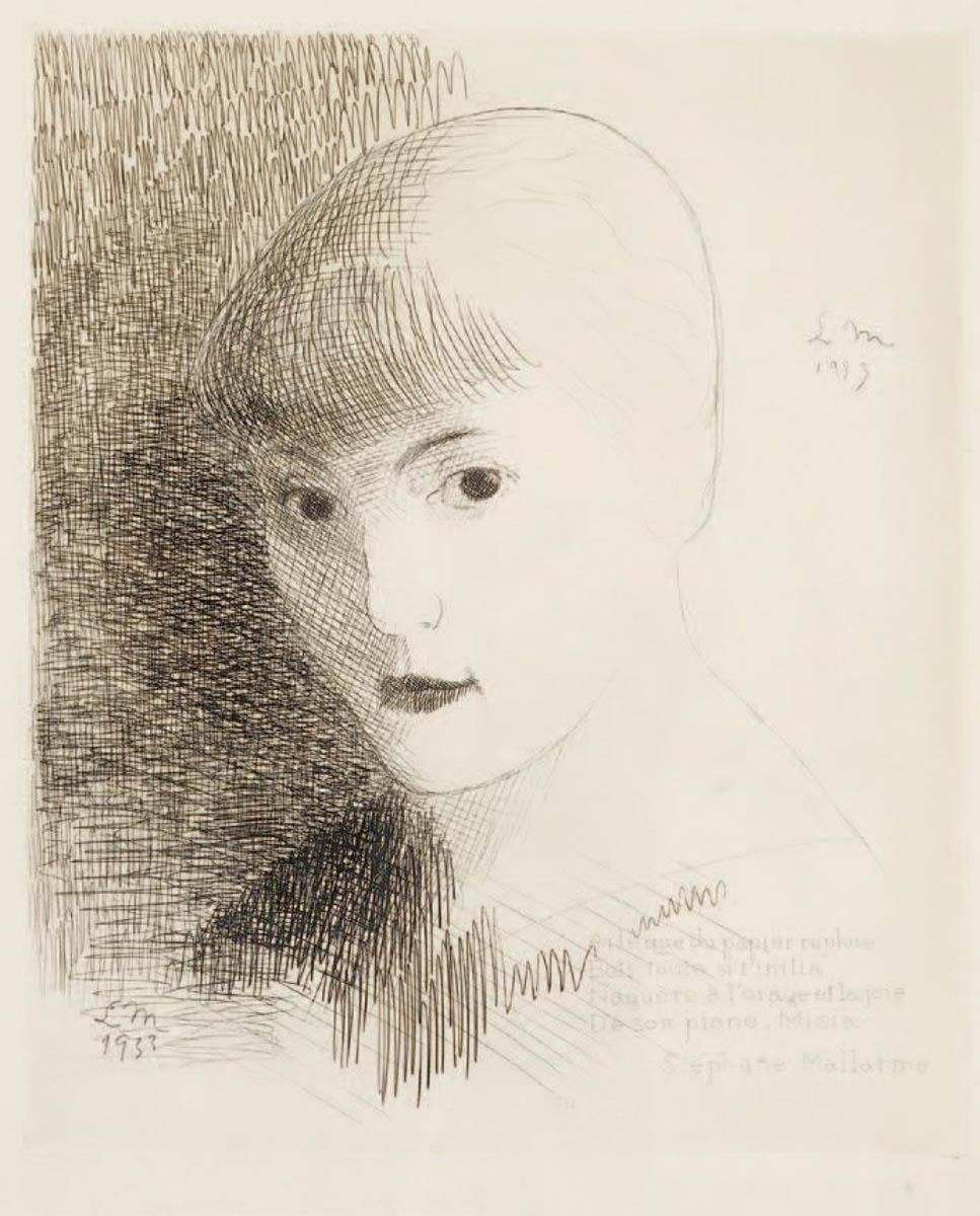 Portret Misi Godebskiej, 1933