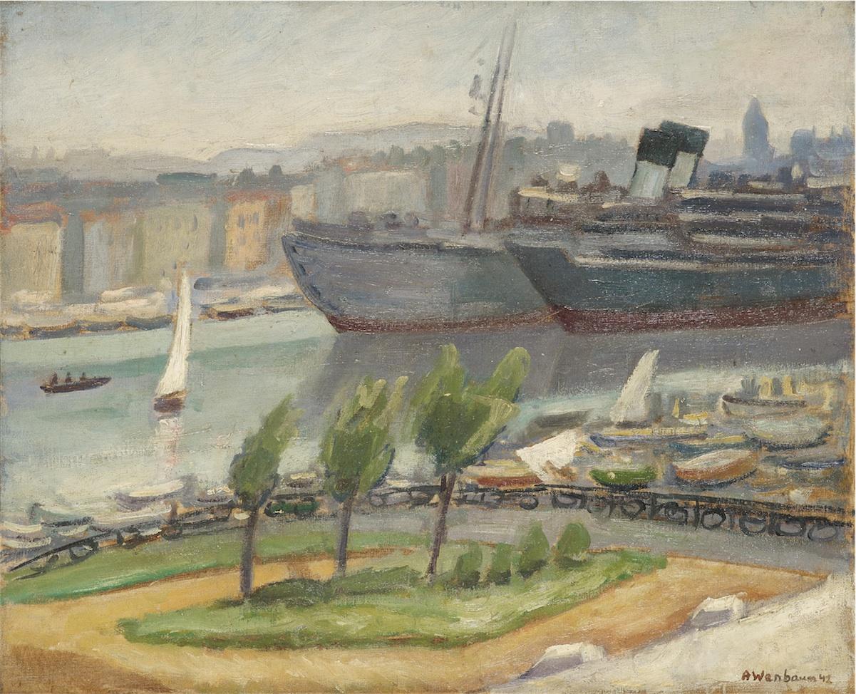 Port, ok. 1920