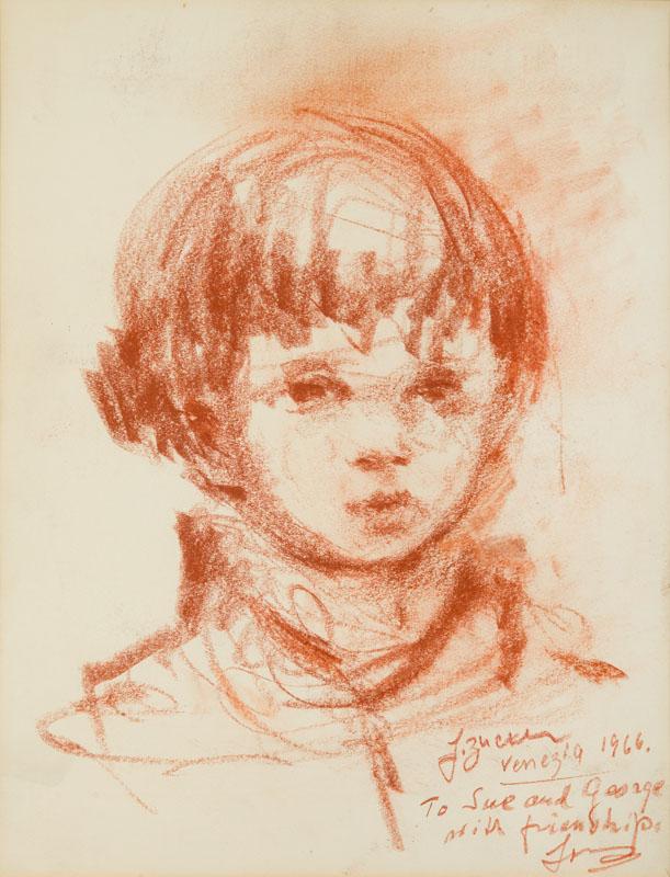 Portret chłopca, 1966 r.