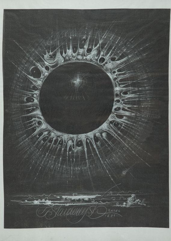 Szkic z Bazylei (Basel), 1683 (1983) r.