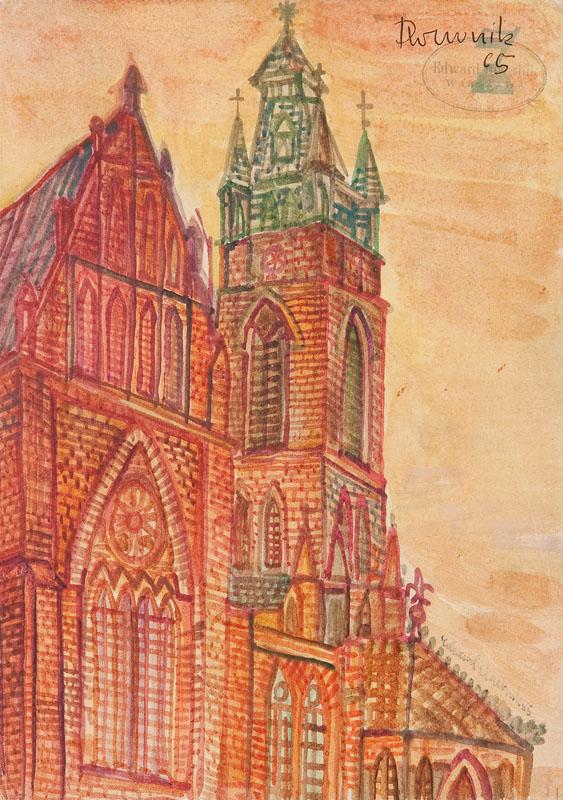 Bez tytułu (Chęciny), 1965 r.