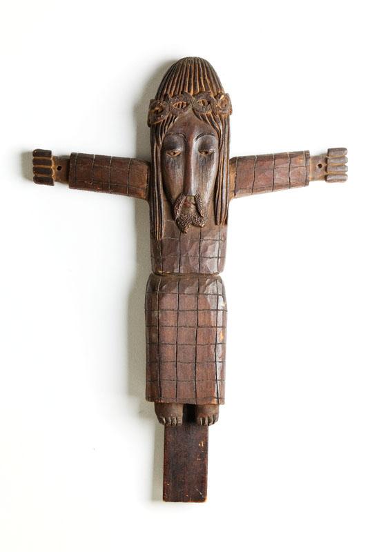 Chrystus Ukrzyżowany, z cyklu Krzyże, 1958/59 r.