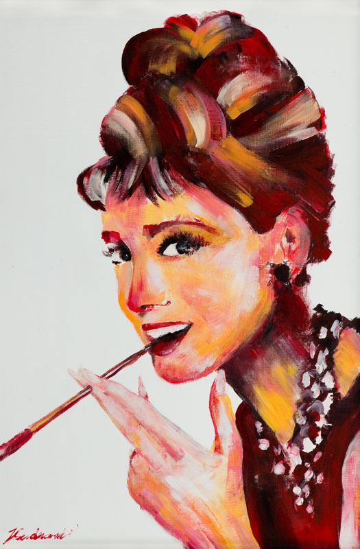 Audrey Hepburn Breakfast at Tiffany`s, 2015 r.