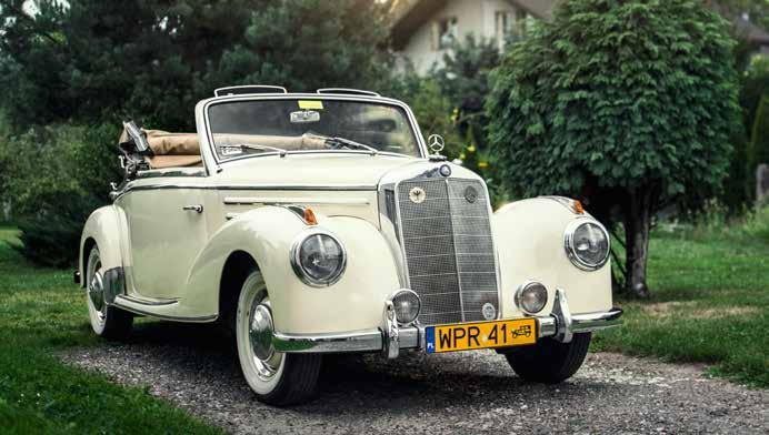Mercedes 220A Cabrio 1955