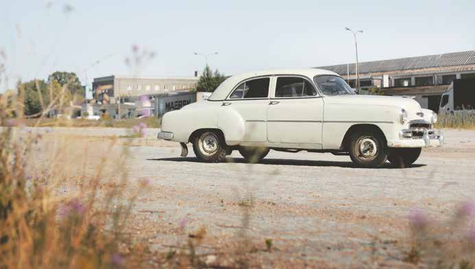 Chevrolet Deluxe Sedan 1952