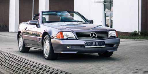 Mercedes 500SL 1991