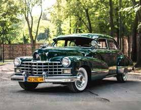 Cadillac 62 Series Sedan 1947