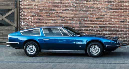Maserati Indy America 4700 GT 1972