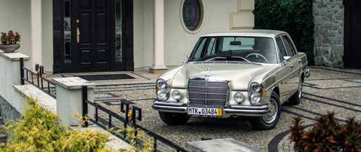 Mercedes 280SE W108 1971