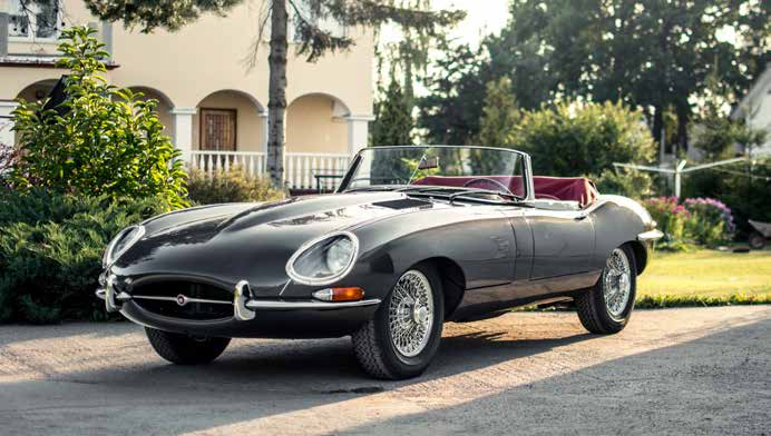 Jaguar E-Type Series 1 Roadster 1962