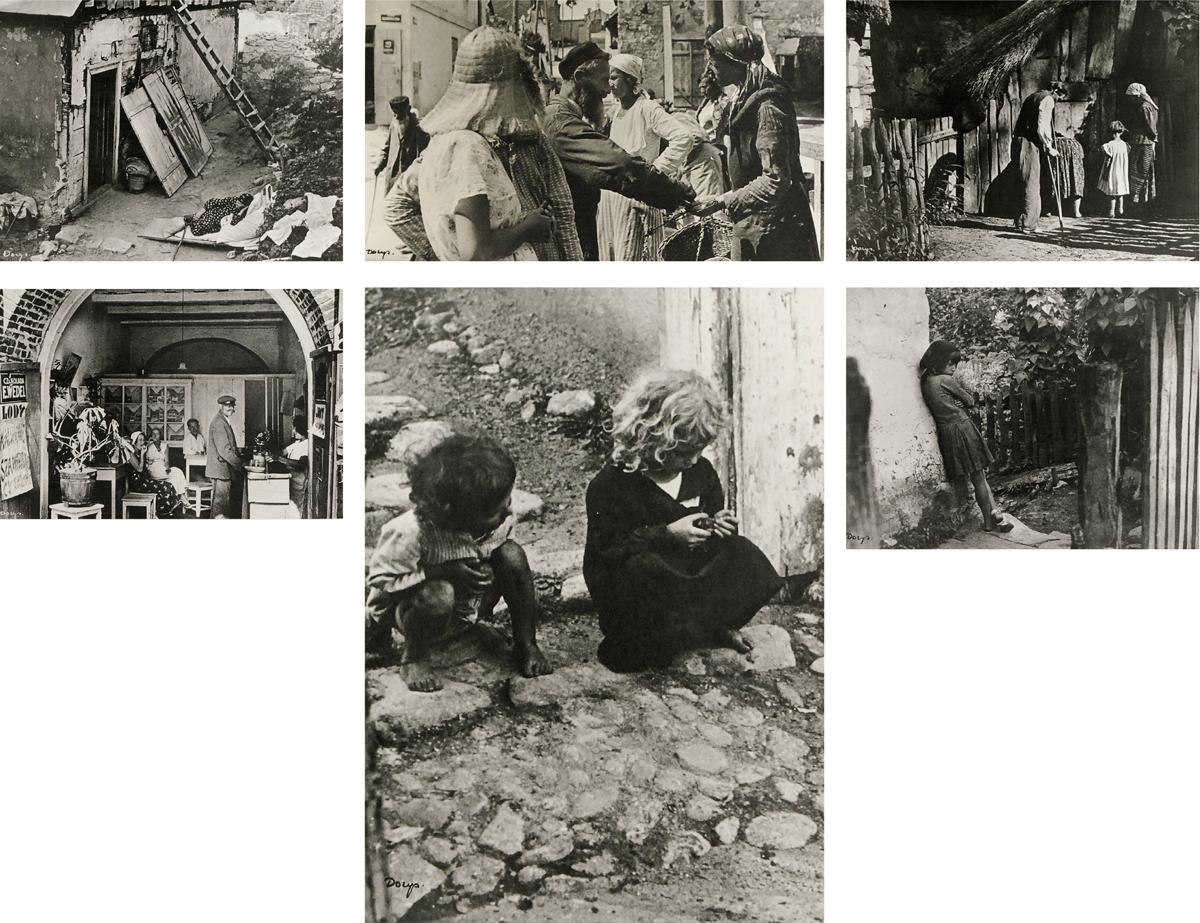 Dzieci I, Na targu, Dzieci III, Rodzina, Sklepik III, Podwórko z cyklu Kazimierz nad Wisłą w 1931 roku
