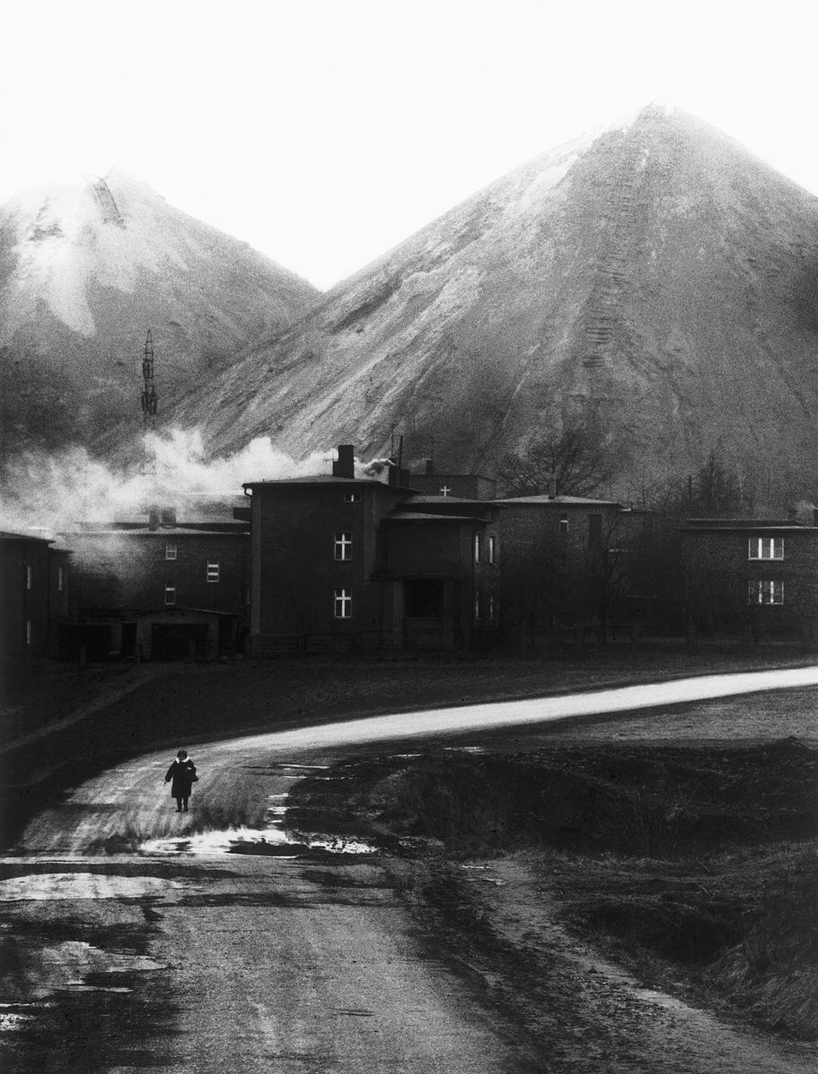 Hałdy kopalni Rymer z cyklu Śląsk 1975-1992