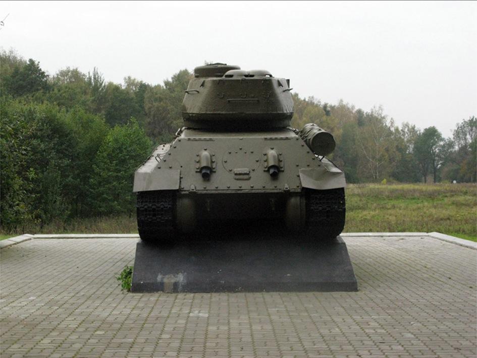 Czołg z serii Enklawa