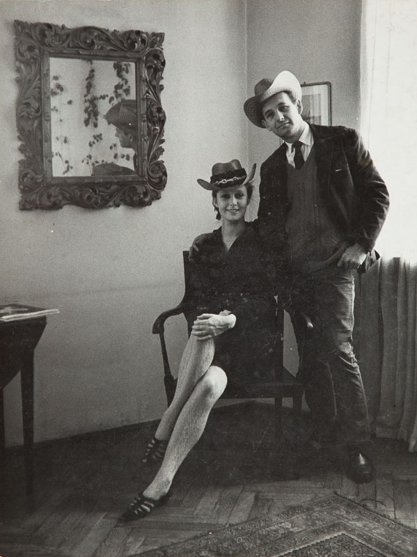 Beata Tyszkiewicz i Andrzej Wajda, 1966 r.