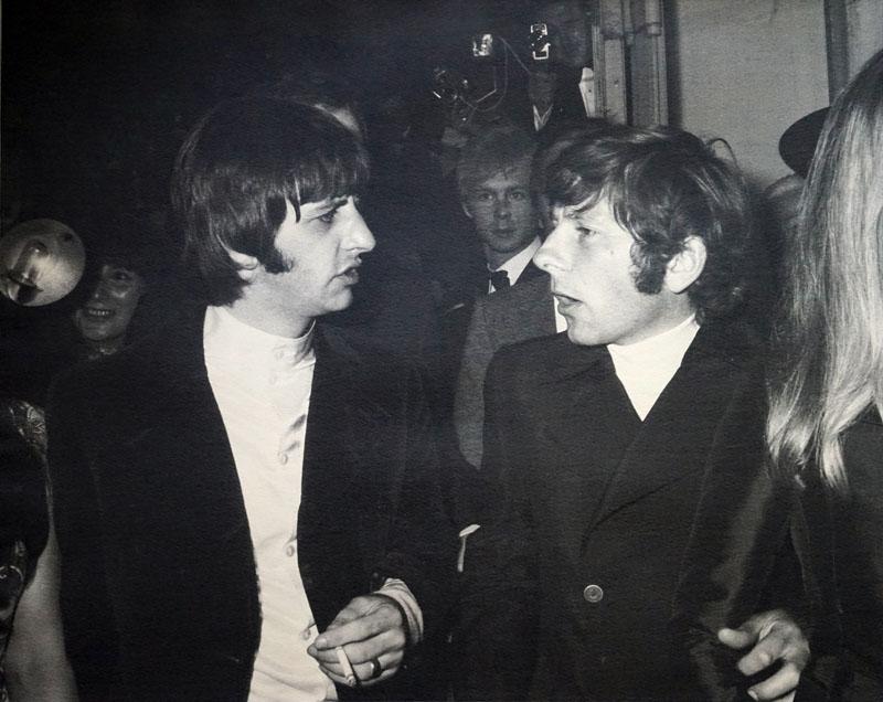Ringo Star i Roman Polański
