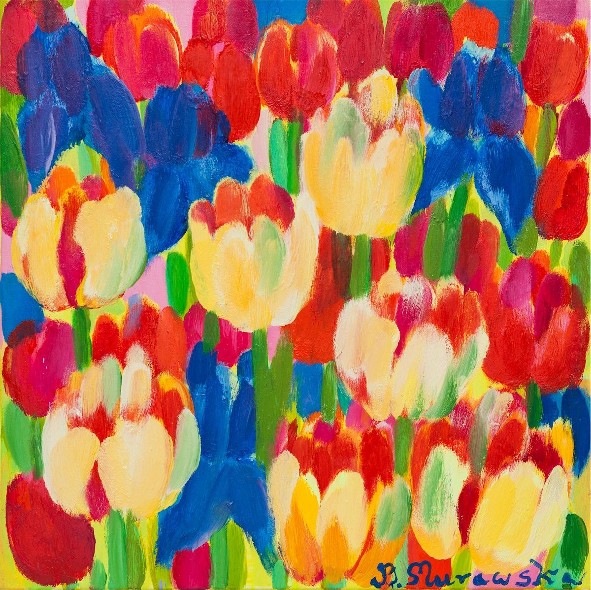 Irysy i tulipany, 2015