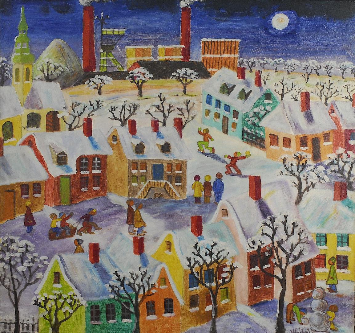 Zimowe zabawy, 1980